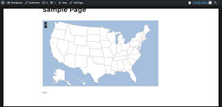 Country Map Usa interactive svg map u2014 wordpress plugins