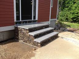 outdoor stairs and stone steps for front u0026 back yard landscaping