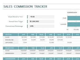 Spreadsheet For Sales Tracking by Sales Commission Tracker Office Templates