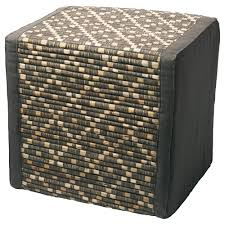furniture overstock com ottomans round upholstered ottoman