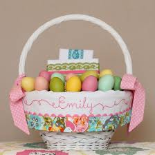 personalized easter basket liners personalized easter basket liner floral easter basket heirloom