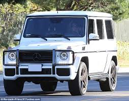 kris jenner mercedes suv kris jenner and bruce jenner confirm separation daily mail