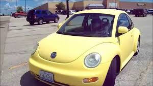 volkswagen beetle yellow 2000 volkswagen beetle gls quick tour youtube