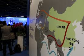 Silk Road Map China Gathers For Silk Road Summit