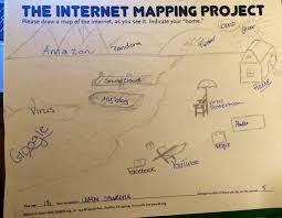 Map Of The Internet Draw Your Own Map Of The Internet Show Your Home