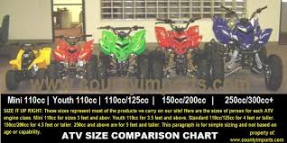 atv size chart real fitness
