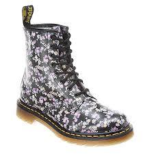 doc martens womens boots australia au shoes s dr martens floral boot black buying cheap s