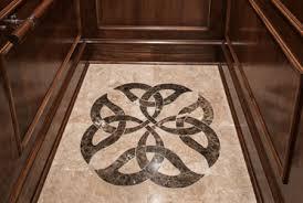 floor medallions custom floors precision cutting service