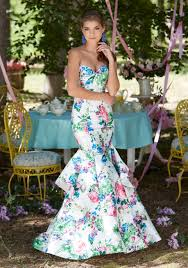 satin mermaid prom dress with corset back style 99004 morilee