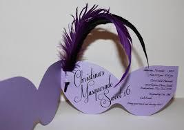 sweet 16 masquerade invitations invitations pinterest