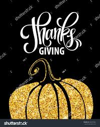 happy thanksgiving day give thanks autumn stock vector 486357694