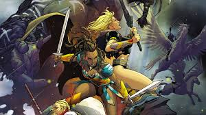 amazon warrior wonder woman s amazon sisters get their own series exclusive