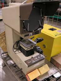 mitutoyo pj 250 vertical beam optical comparator parts machine not
