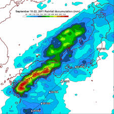 Rainfall Map Usa Typhoon Roke Brings Heavy Rains To Japan Precipitation