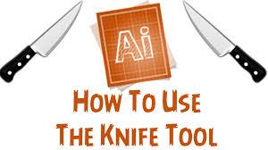 adobe illustrator cs6 tutorial how to use the knife tool youtube
