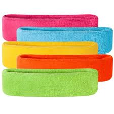basketball headbands neon headbands bright colored sweatbands suddora