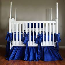 baby crib bedding neutral crib bedding royal blue olena boyko