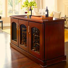 furniture wine cabinets design with brown wooden floor and brown