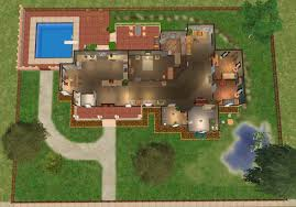 one floor house mod the sims pippenville 1 one story three bedroom house