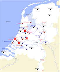 netherlands map cities study study tour in the netherlands map of