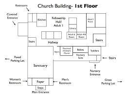 Center Hall Colonial Floor Plans Church Floor Plan Designs Image Of Home Design Inspiration Church