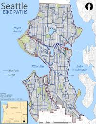 Seattle Bike Map Welch Assignment 2 Introduction To Gis For Urban And