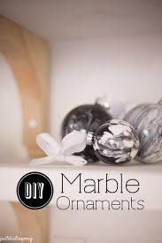 handmade faux marble ornaments just destiny