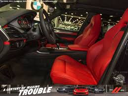 bmw red interior sdautoshow how do you like me now black on red all new bmw x5m