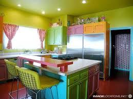 multi color kitchen ideas amazing vibrant and multi colored kitchen decorative ideas