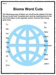 biome facts u0026 worksheets plant u0026 animal ecology for kids