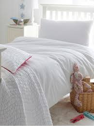 blue and white stripe seersucker duvet cover in stock queen or