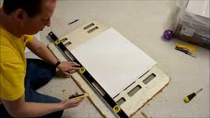 Suspended Ceiling Tile by How To Custom Cut Suspended Ceiling Tiles Youtube