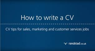 how to write a cv cv tips for sales marketing and customer