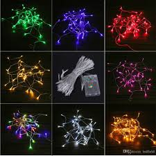 battery operated led string lights waterproof christmas light 5m 10m led string lights 3 aa battery operated
