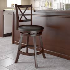 Swivel Bar Stool With Arms Furniture Antique Black Swivel Bar Stools With Backs On Lowes