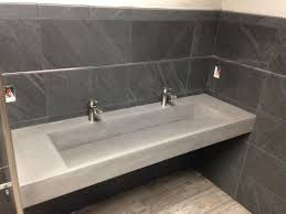 native trails trough sink attractive concrete bathroom sinks ada minneapolis mn kitchen