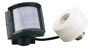 Outdoor Light Bulb Socket Adapter by Glamorous Motion Sensor Outdoor Light Adapter Makeovers With