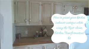 painting kitchen cupboards antique white applying rust oleum