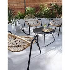 castorama chaise de jardin fauteuil de jardin en métal cuba castorama jardin