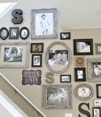 Staircase Wall Ideas 11 New Things To Put On Your Gallery Wall Monograms Picture