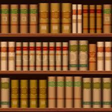 Bookshelf Background Image Books Vector Seamless Texture Vertically And Horizontally