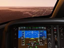 Cirrus Sf50 Interior X Plane 11 Flight Simulator Recreates The Beauty And Banality Of