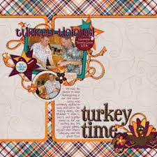 scrapbook thanksgiving layouts search scrapbooking
