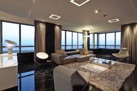 open plan living rug modern lighting modern apartment in buenos