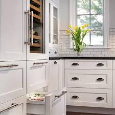 storage around fridge design ideas