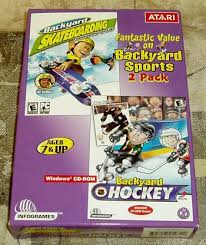 Backyard Skateboarding Video Games Hockey