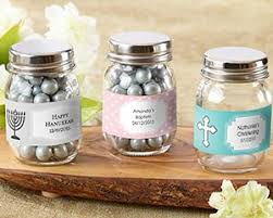 baptism favors mini glass jar christening and baptism favors by kate aspen