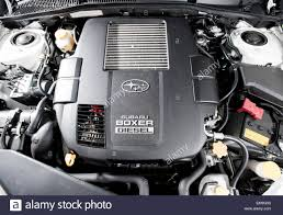 subaru legacy engine 2008 subaru legacy with boxer diesel engine stock photo royalty