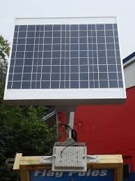 Commercial Solar Powered Flood Lights by High End Commercial Solar Billboard 2 Sided Light Product Details