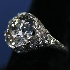 mine cut engagement ring vintage engagement rings from the edwardian era to the 1950 s